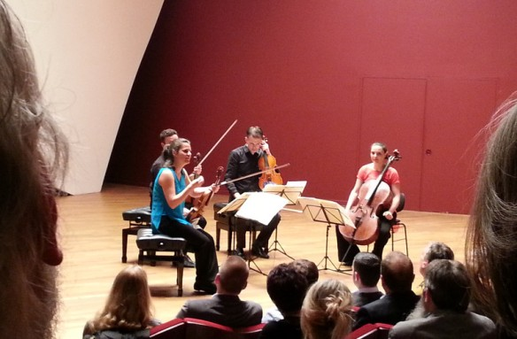 The Elias Quartet: Songs of eternal quietness and wild energy